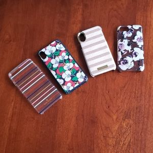 Kate spade phone cases Lot of 4 phone cases